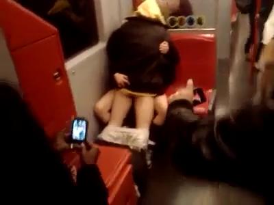 Ficken In Der U Bahn